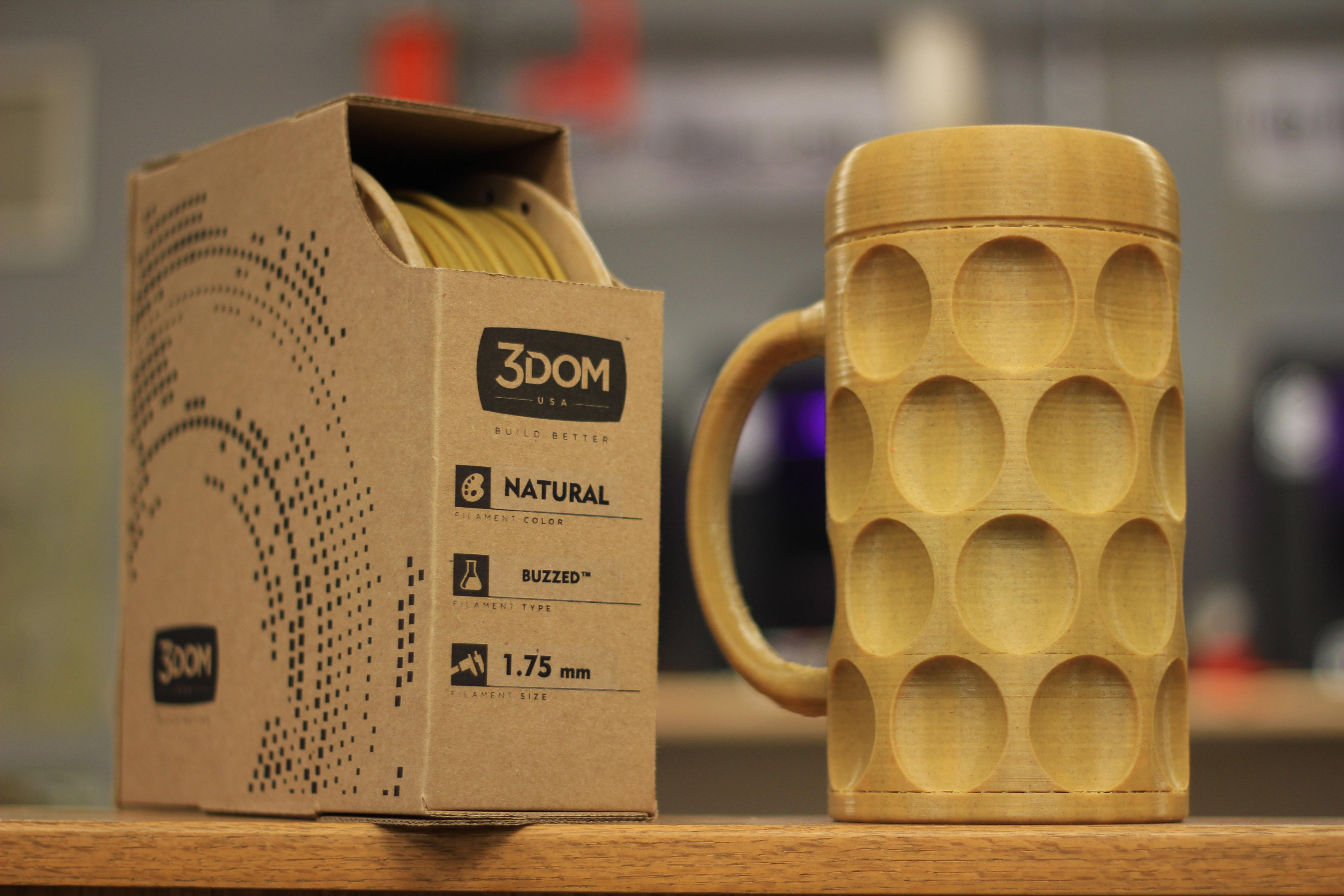 De la bi re pour les filaments des imprimantes 3d - Filament imprimante 3d ...