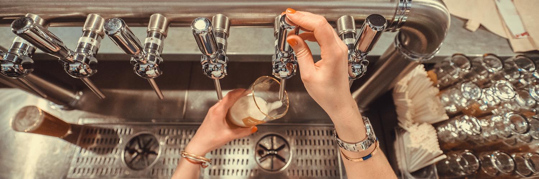Notre premier bar à Grenoble pour venir boire des petites mousses à la source !