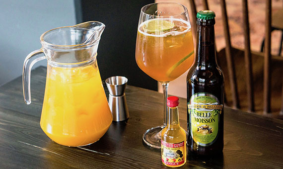 Bière Cocktail Mangue